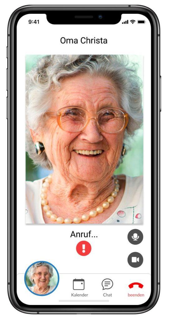 Anruf bei Oma