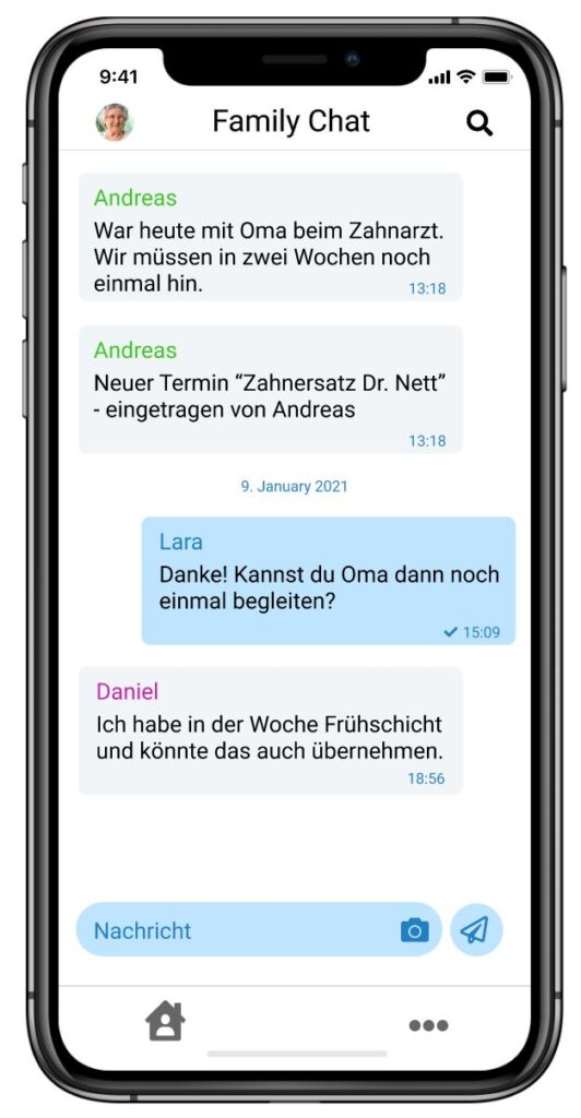 Familienchat